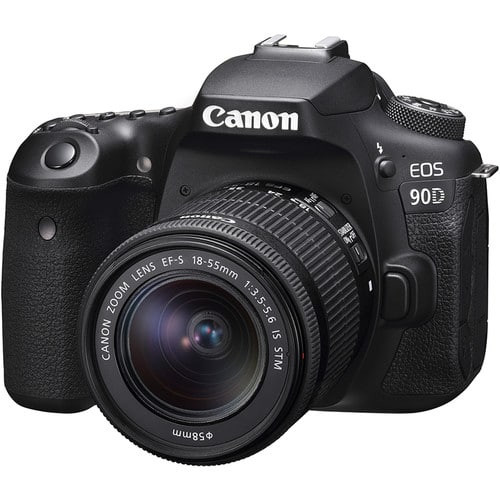 Canon EOS 90D DSLR Camera with 18-135mm