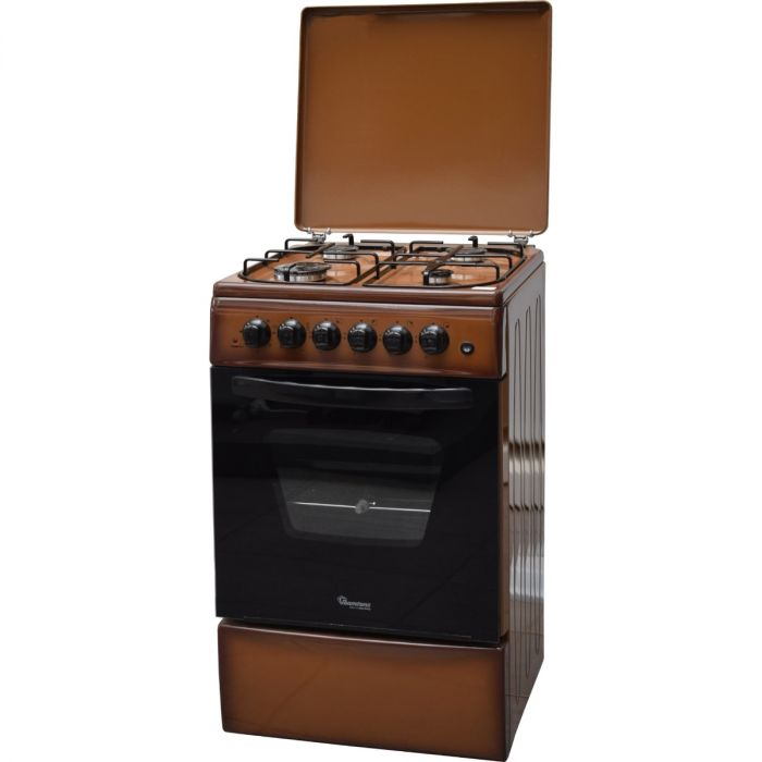 Ramtons RF/404 - 3 Gas +1 Electric - 50X60 Cooker - BROWN