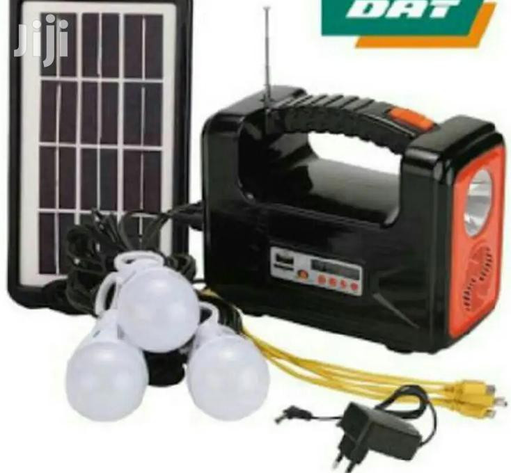 Dat At-9015b Home Solar Lighting System With FM Radio