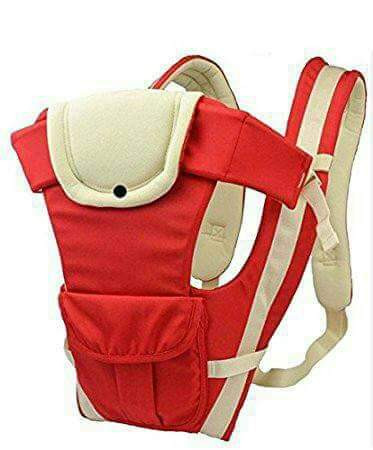 Comfortable With A Hood Baby Carrier - Red
