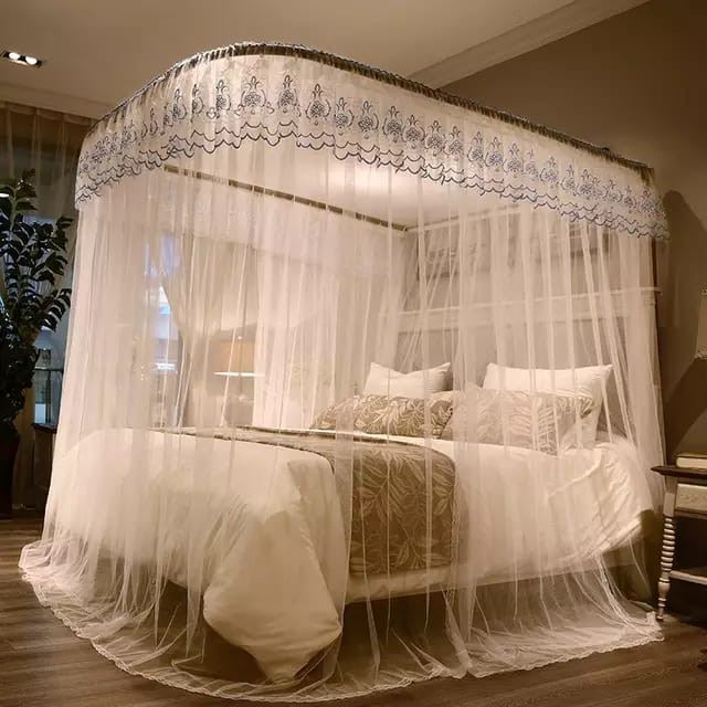 Two stand mosquito net - White 6*6