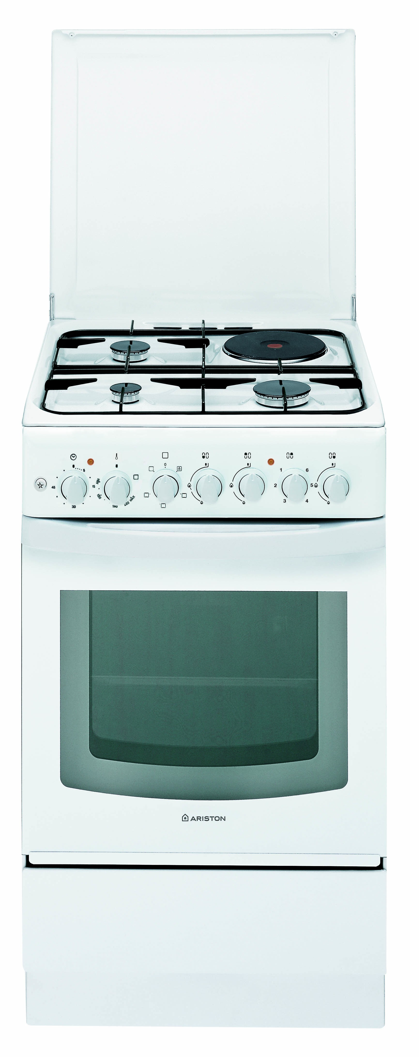 ARISTON COMBINATION COOKER, 3GAS & 1ELECTRIC