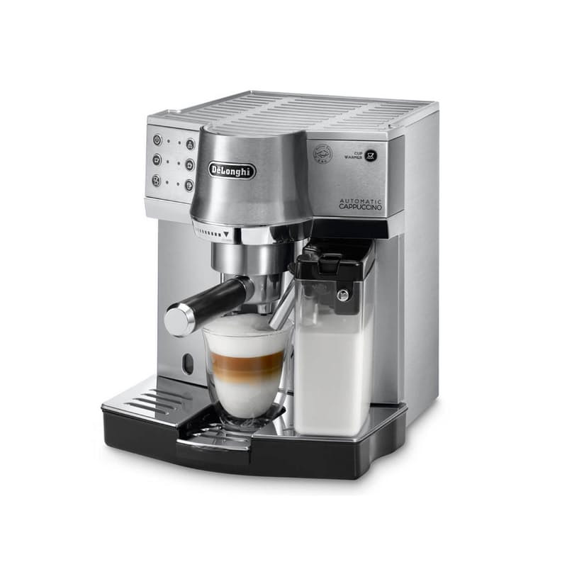 """DeLonghi patented """"Automatic Cappuccino system"""""""