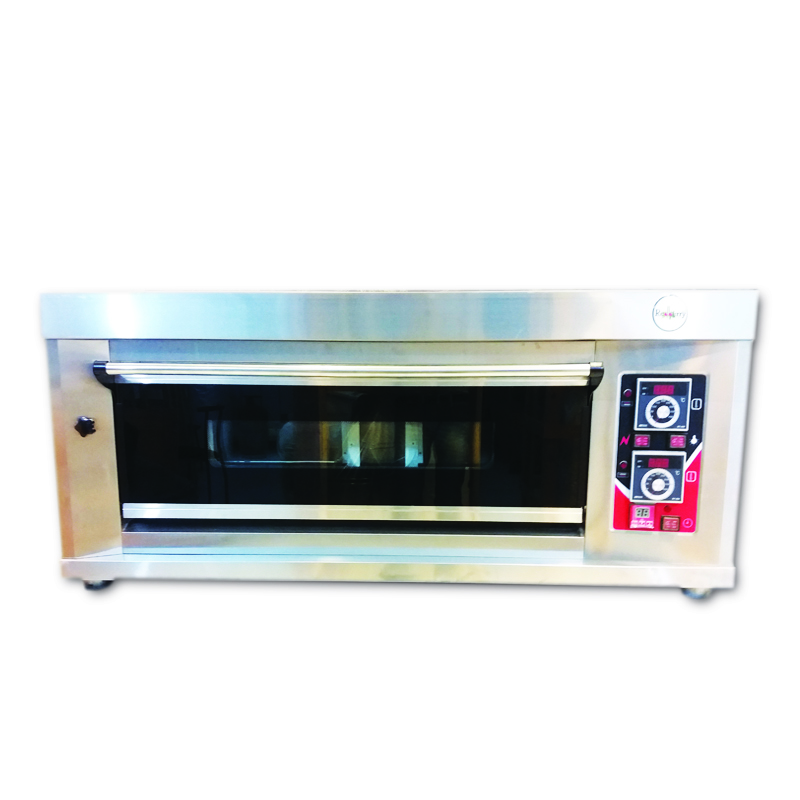 Gas Deck Oven – 1 Deck 2 Trays