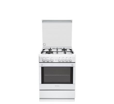 ARISTON COMBINATION COOKER, 4GAS & 2 ELECTRIC SOLID PLATES