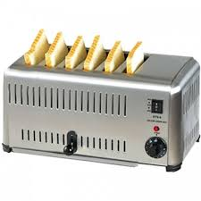Commercial 6 Slot Toaster