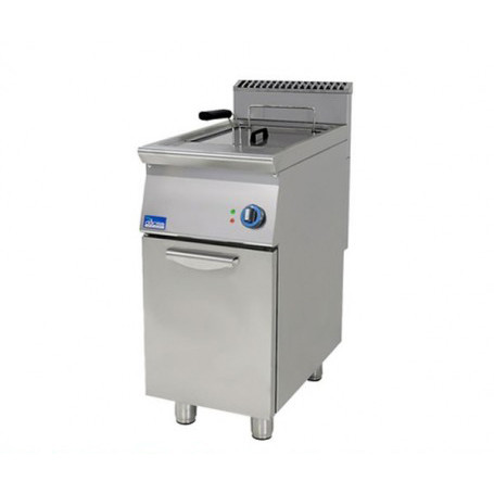 2X17LITRES ELECTRIC FRYER+CABINET